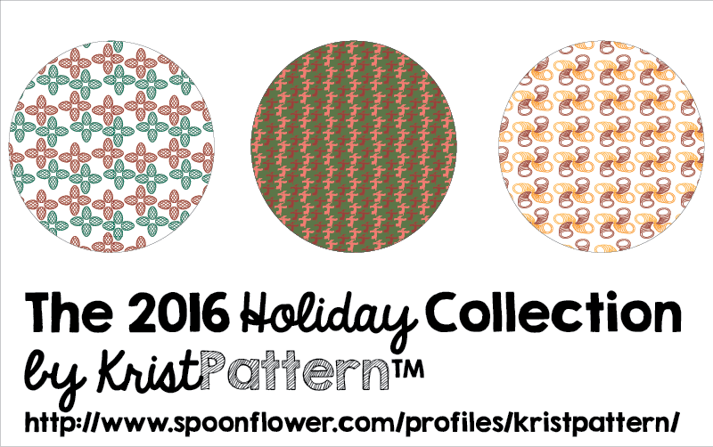 Kristpattern 2016 Holiday Collection